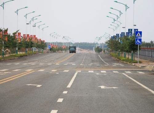 园区交通道路